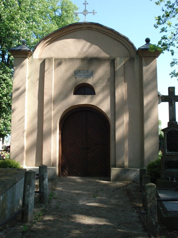 2007-05-20 Stara Rawa - cmentarz parafialny (3)