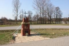 2019-03-31 Wólka Jagielczyńska kapliczka nr1 (2)
