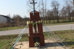 2019-03-31 Wólka Jagielczyńska kapliczka nr1 (3)