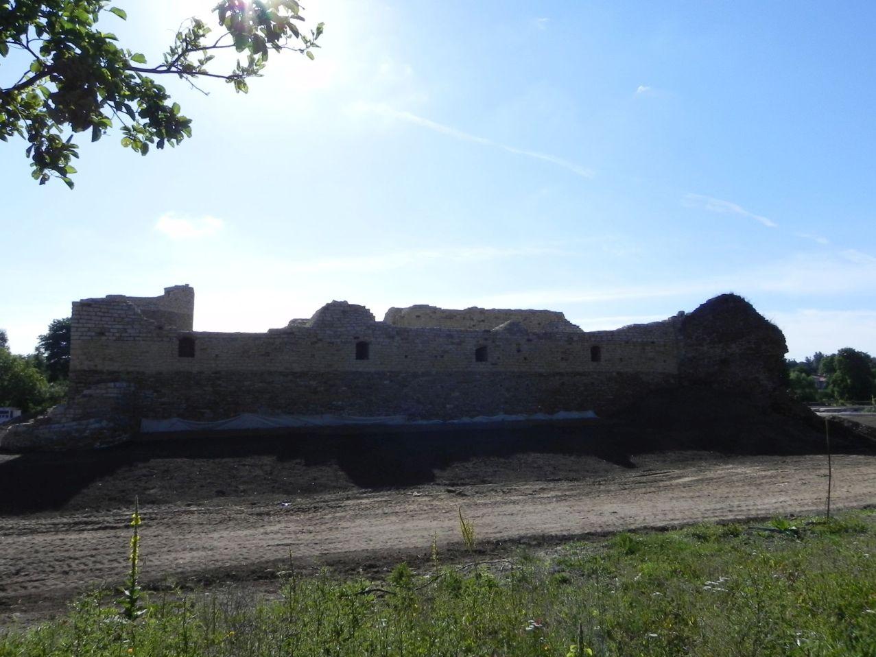 2012-07-22 Inowłódz - Ruiny zamku (26)