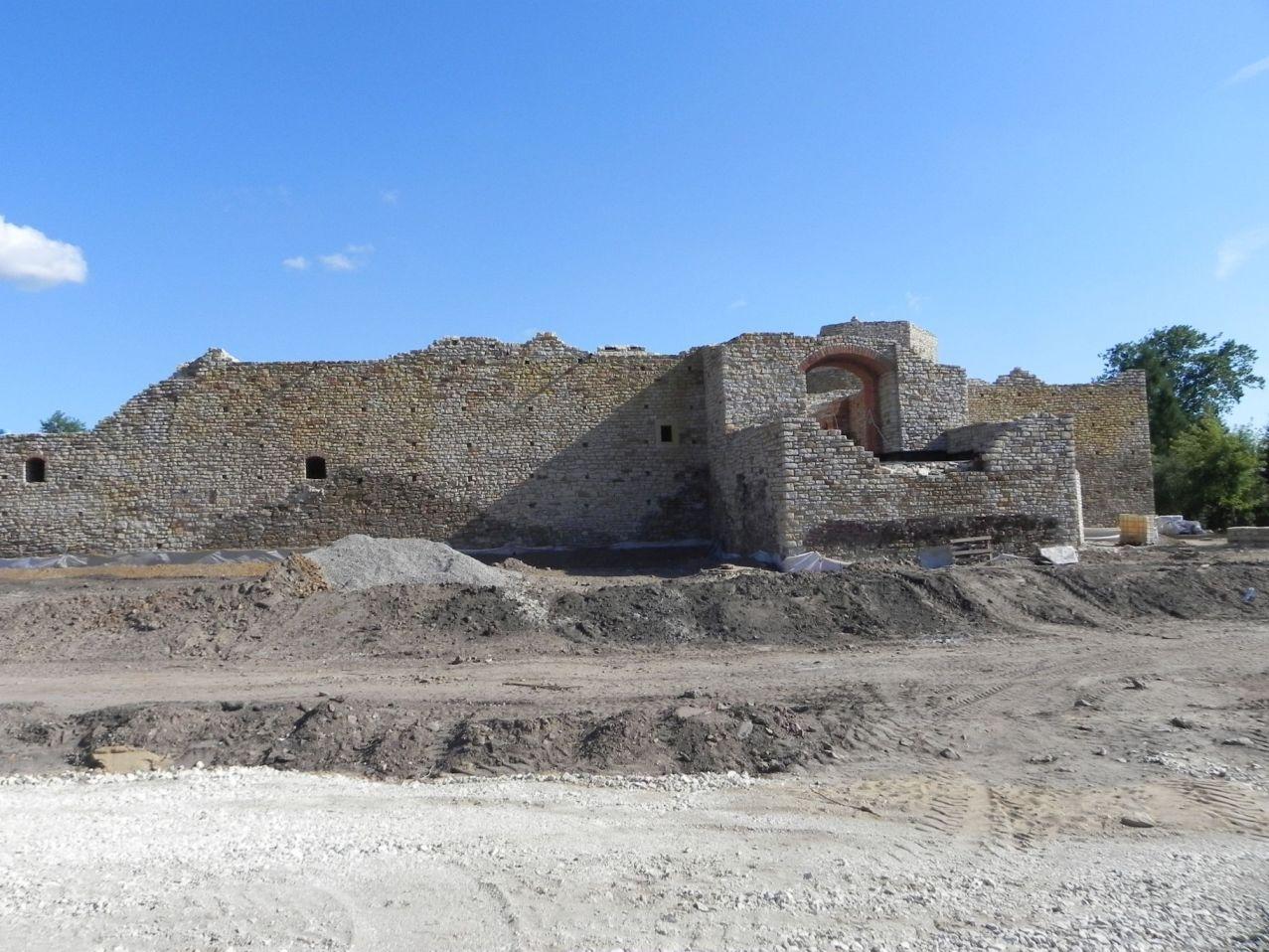 2012-07-22 Inowłódz - Ruiny zamku (36)