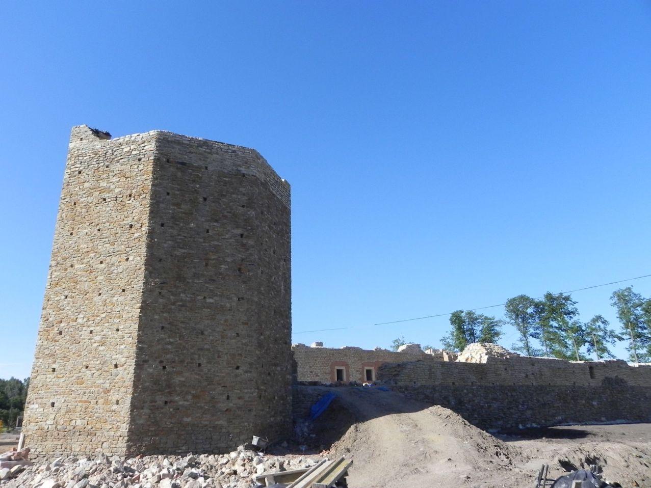2012-07-22 Inowłódz - Ruiny zamku (7)