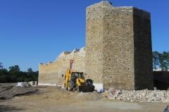 2012-07-22 Inowłódz - Ruiny zamku (2)