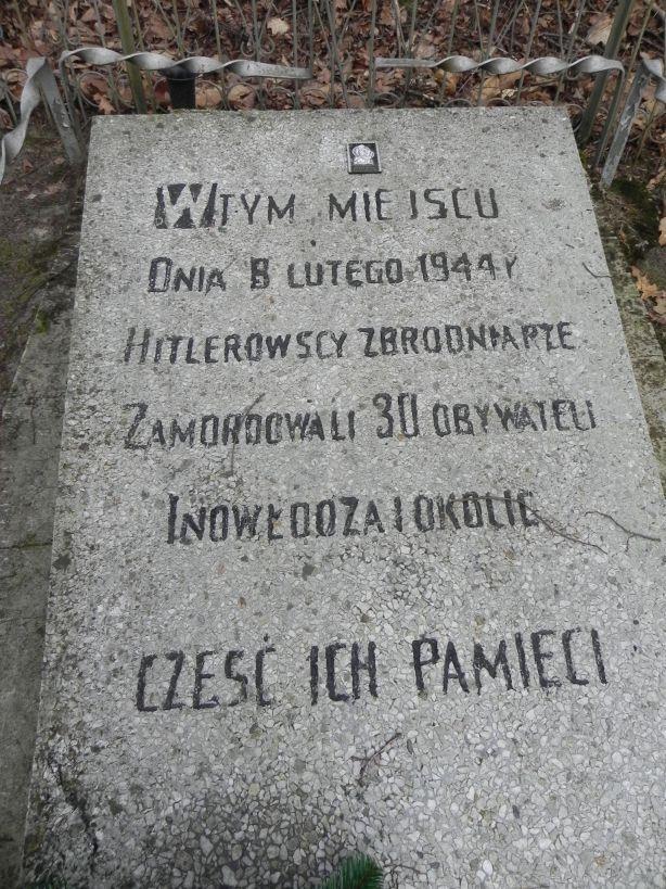 2018-01-14 Inowłódz - pomnik (3)