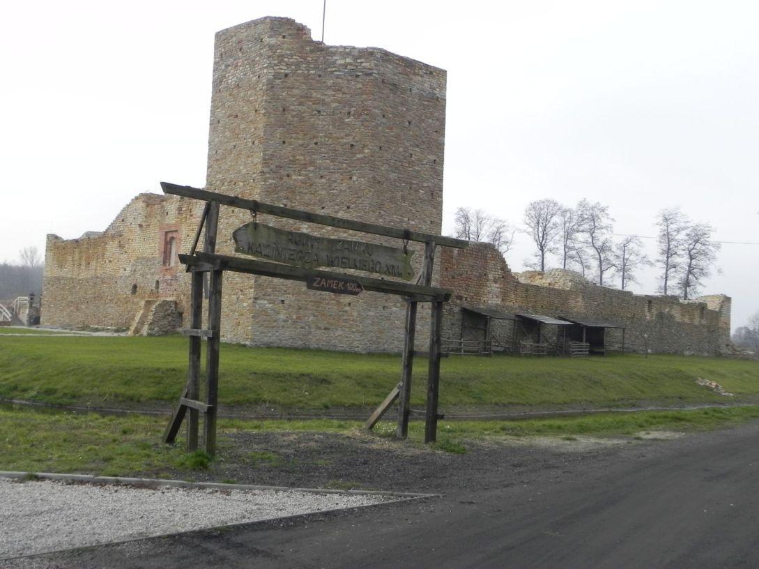 2013-11-17 Inowłódz - Ruiny zamku (1)
