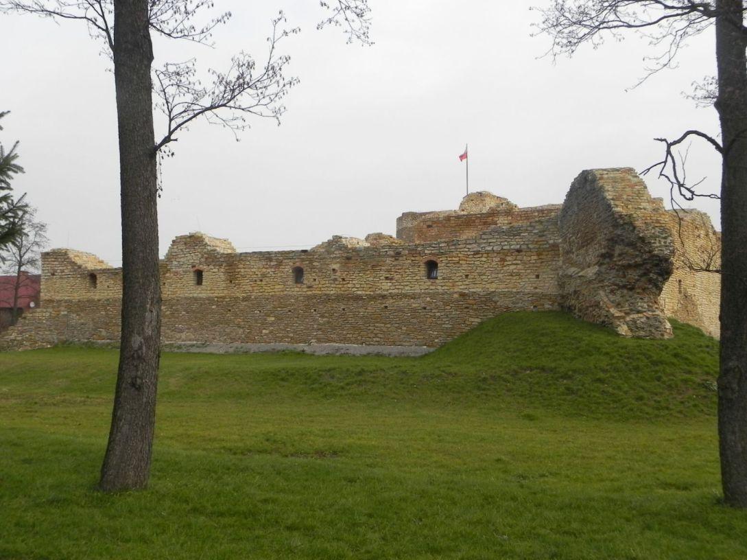 2013-11-17 Inowłódz - Ruiny zamku (13)