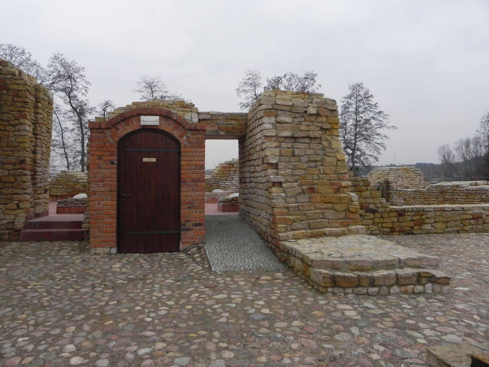 2014-01-05 Inowłódz - Ruiny zamku (10)