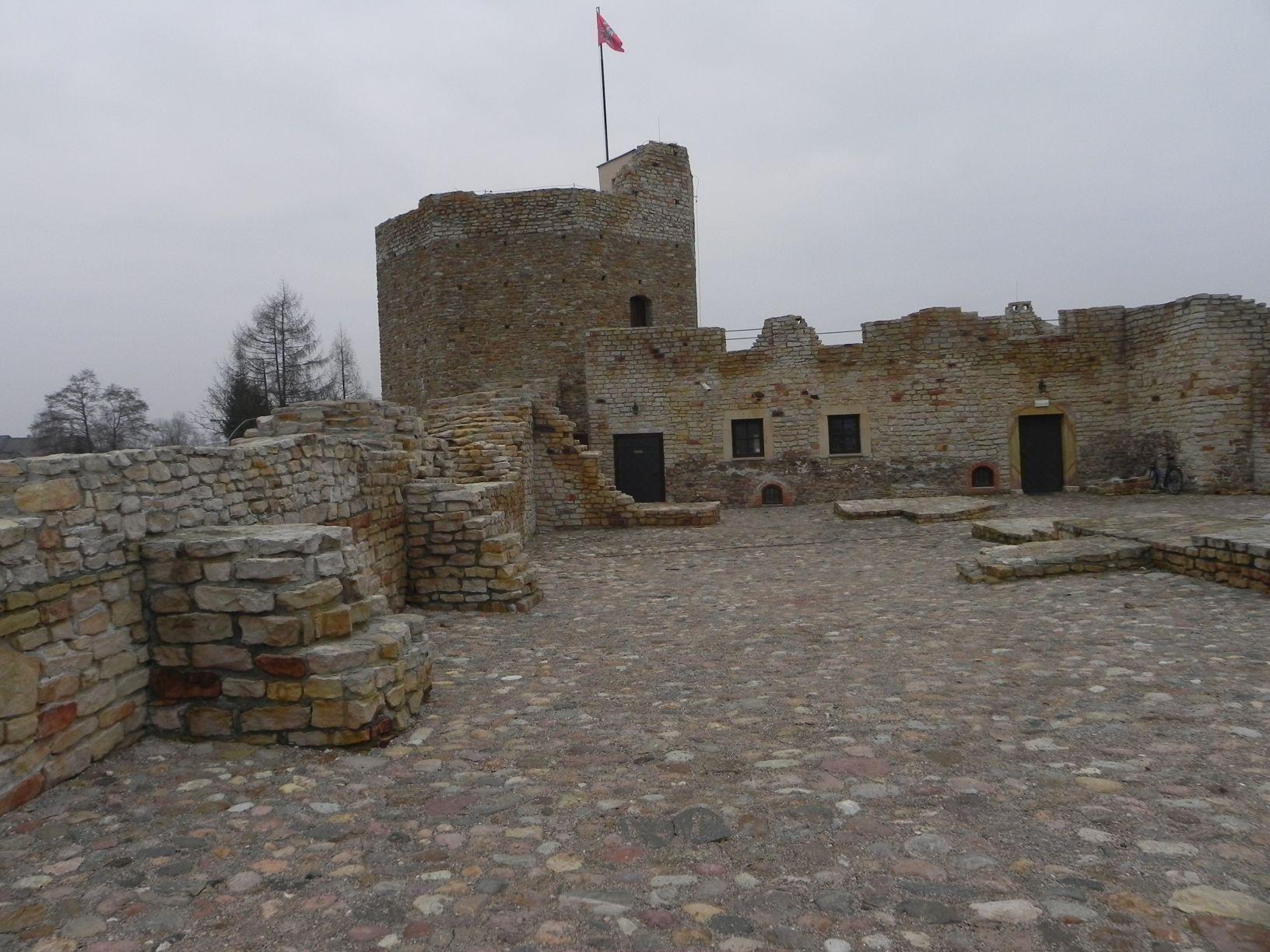 2014-01-05 Inowłódz - Ruiny zamku (12)