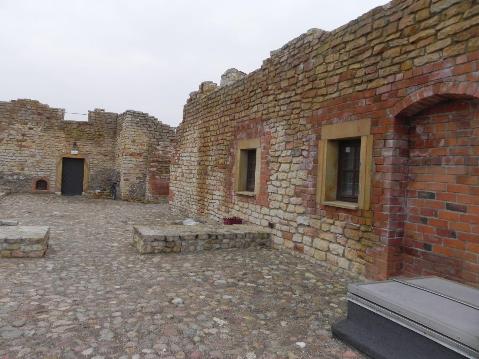 2014-01-05 Inowłódz - Ruiny zamku (14)