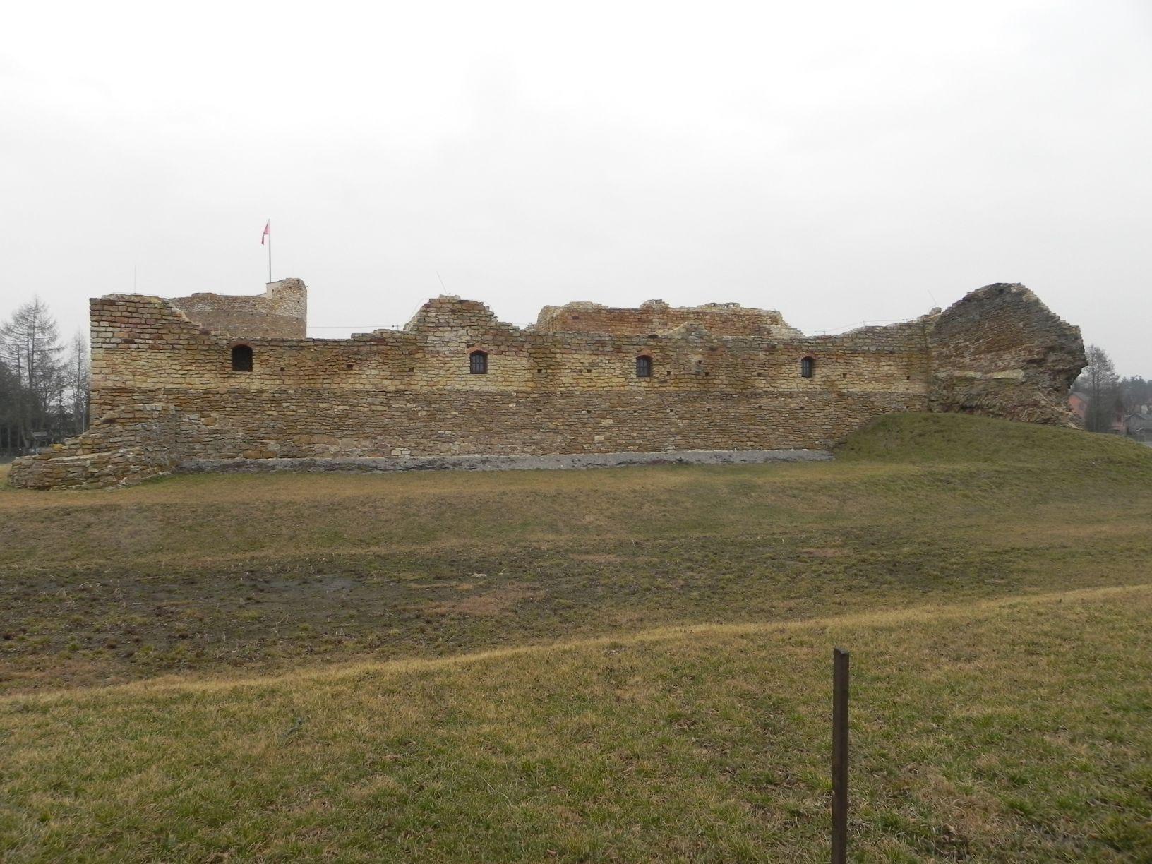 2014-01-05 Inowłódz - Ruiny zamku (19)