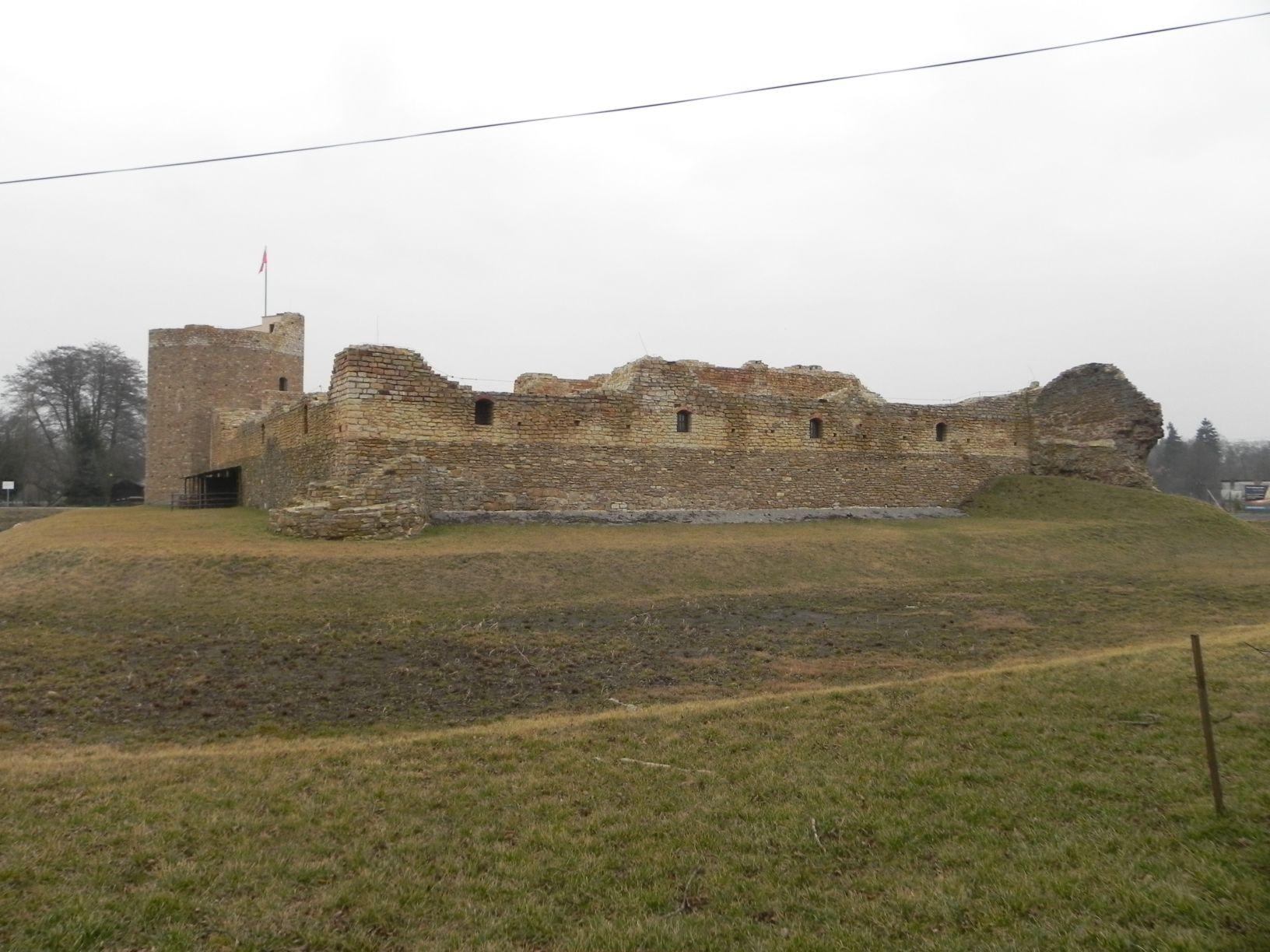 2014-01-05 Inowłódz - Ruiny zamku (20)