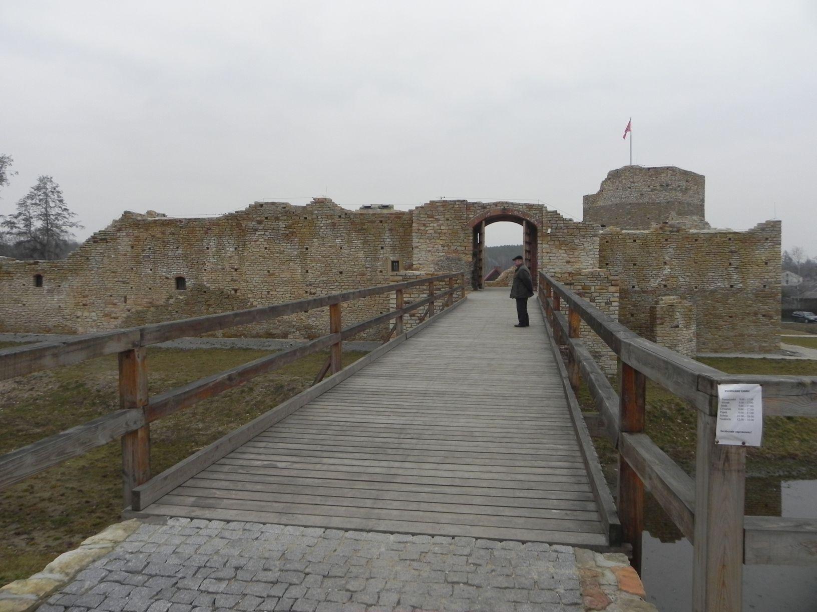 2014-01-05 Inowłódz - Ruiny zamku (6)
