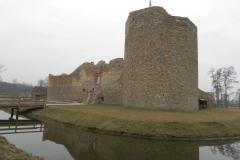 2014-01-05 Inowłódz - Ruiny zamku (1)