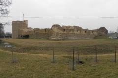 2014-01-05 Inowłódz - Ruiny zamku (22)