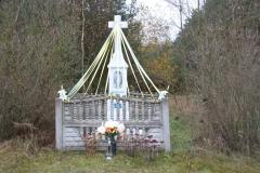 2019-11-10 Kamienna Wola kapliczka nr2 (1)