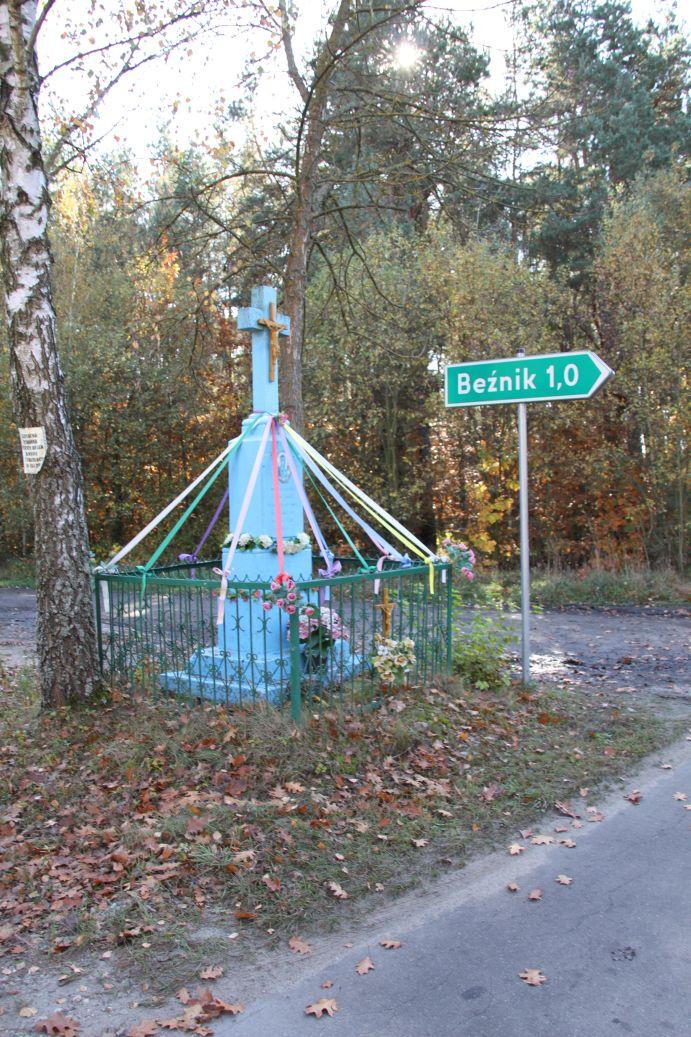 2019-10-20 Kolonia Dębiny kapliczka nr1 (1)