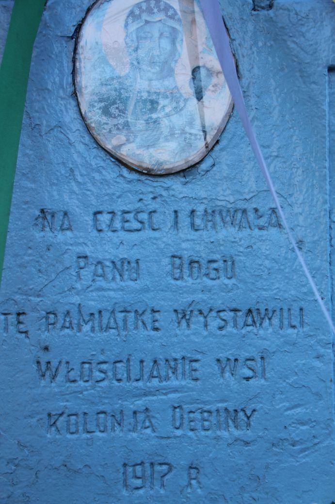 2019-10-20 Kolonia Dębiny kapliczka nr1 (10)