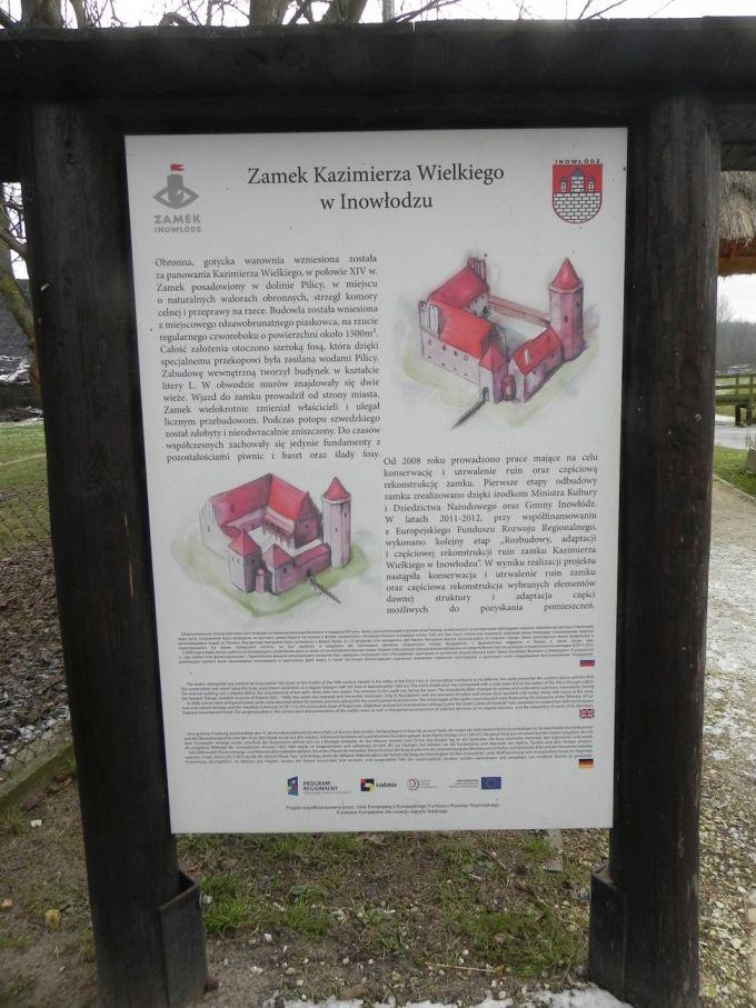 2017-01-01 Inowłódz - Ruiny zamku (1)