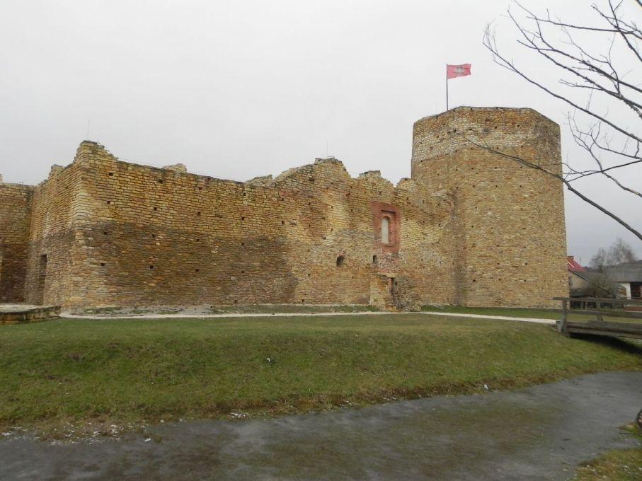 2017-01-01 Inowłódz - Ruiny zamku (13)