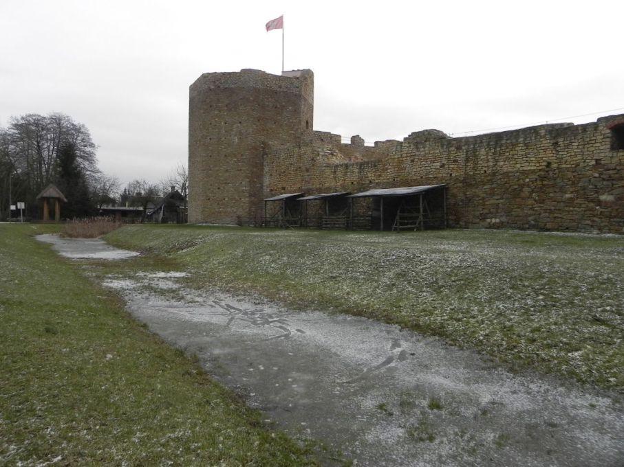 2017-01-01 Inowłódz - Ruiny zamku (34)