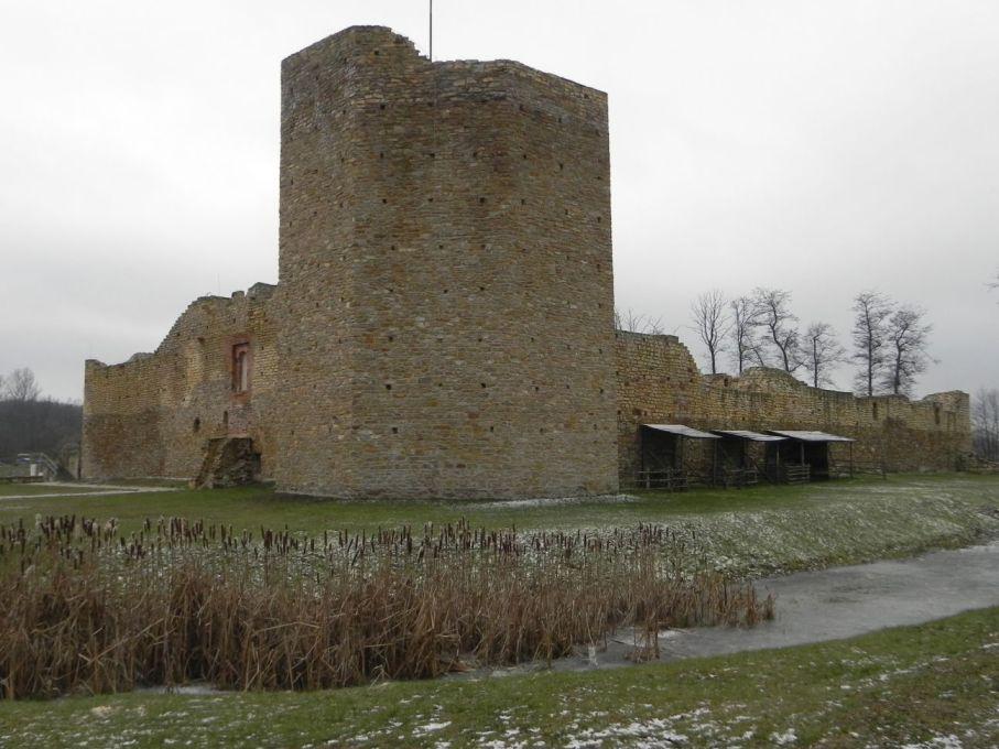 2017-01-01 Inowłódz - Ruiny zamku (5)