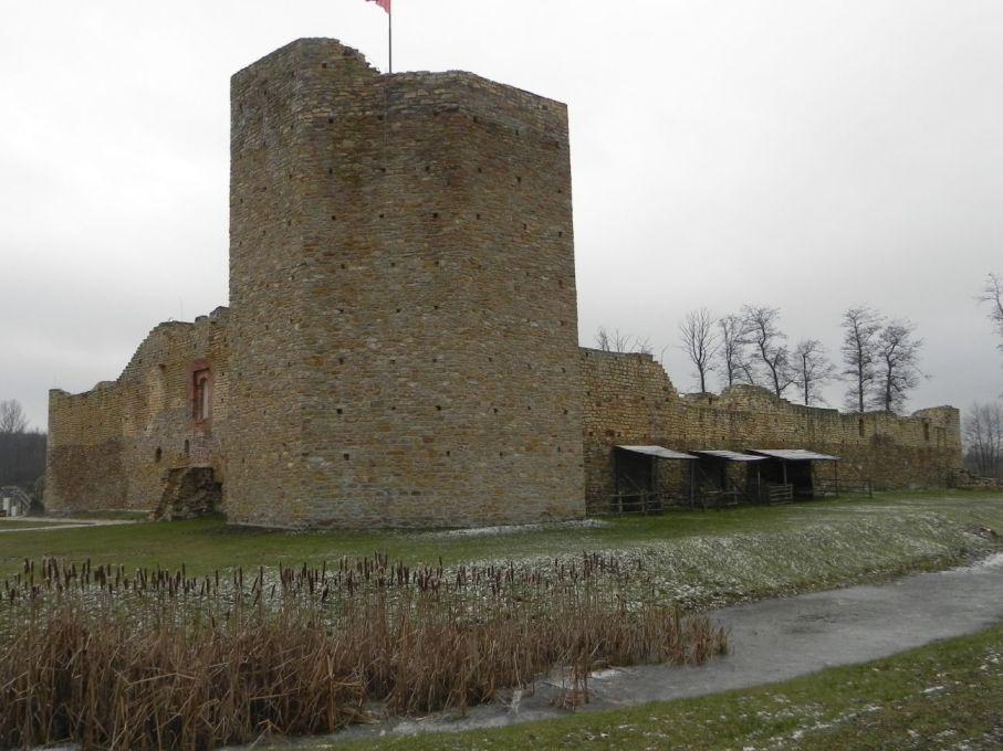 2017-01-01 Inowłódz - Ruiny zamku (6)