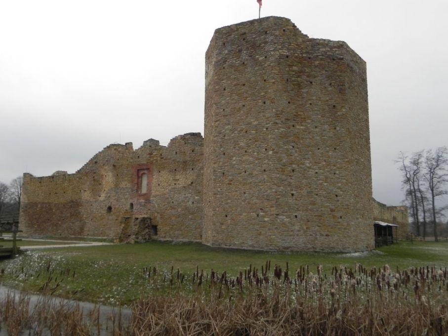 2017-01-01 Inowłódz - Ruiny zamku (7)