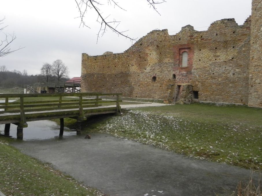 2017-01-01 Inowłódz - Ruiny zamku (9)
