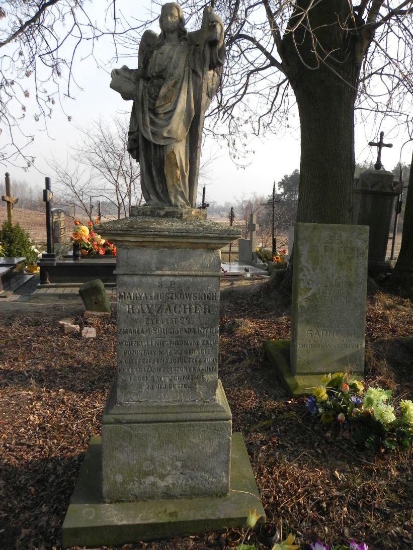 2012-03-18 Kurzeszyn - cmentarz parafialny (2)