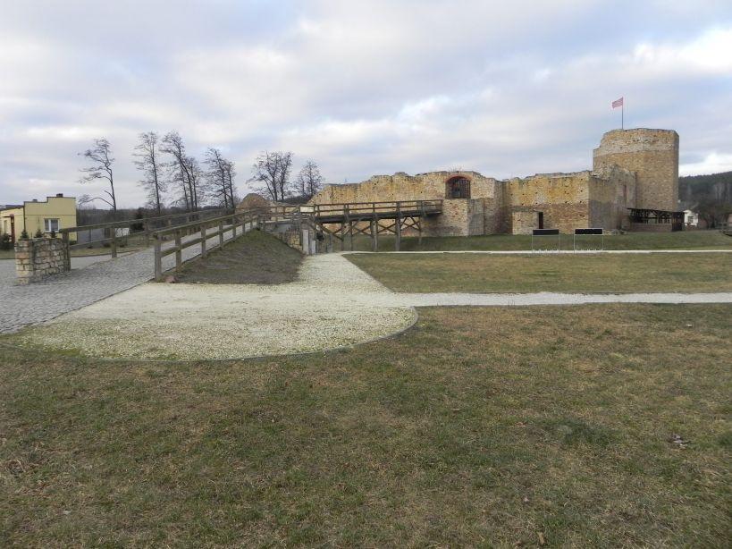 2018-01-14 Inowłódz - ruiny zamku (10)