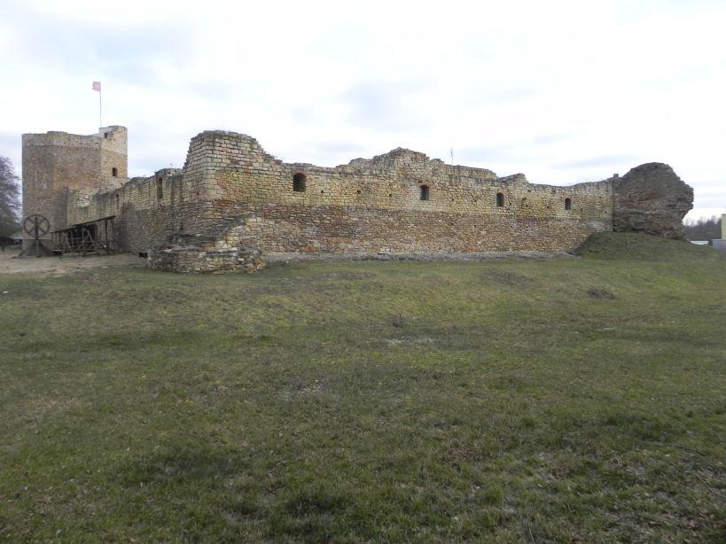 2018-01-14 Inowłódz - ruiny zamku (18)