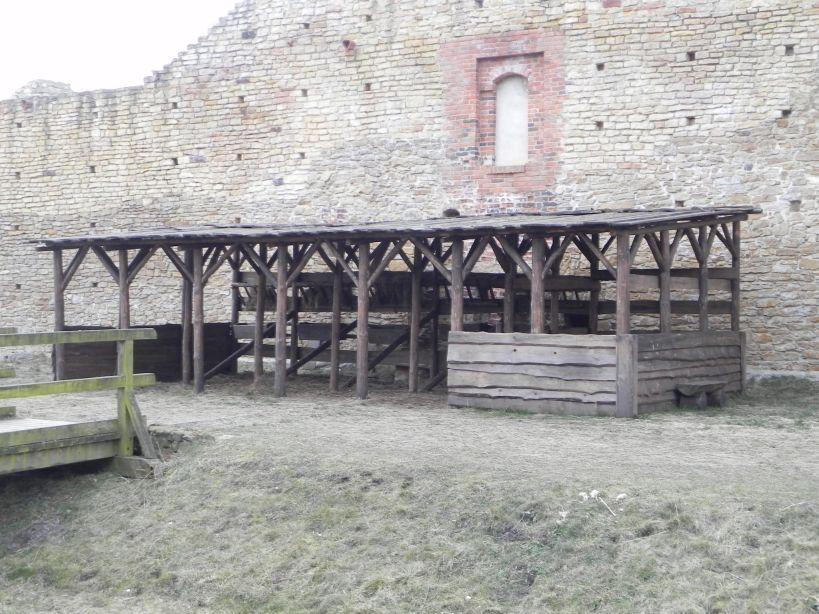 2018-01-14 Inowłódz - ruiny zamku (6)