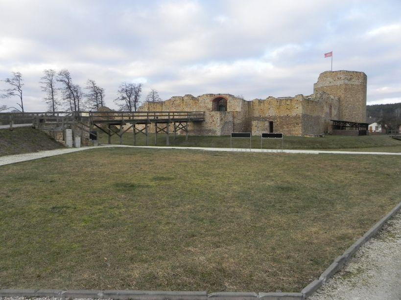 2018-01-14 Inowłódz - ruiny zamku (9)