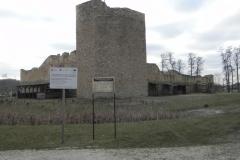2018-01-14 Inowłódz - ruiny zamku (3)