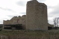2018-01-14 Inowłódz - ruiny zamku (4)