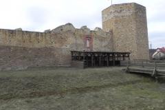 2018-01-14 Inowłódz - ruiny zamku (7)