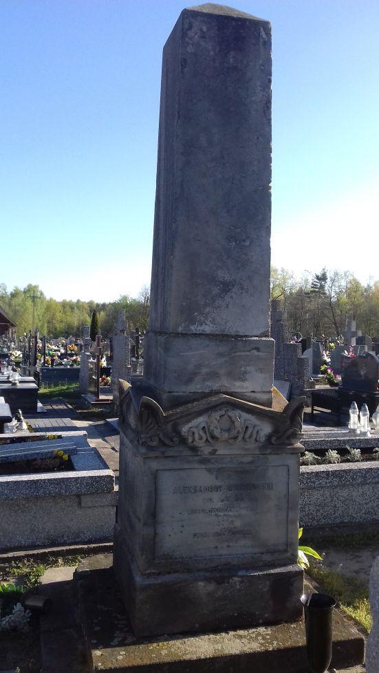 2018-04-22 Łęgonice Duże - cmentarz parafialny (2)