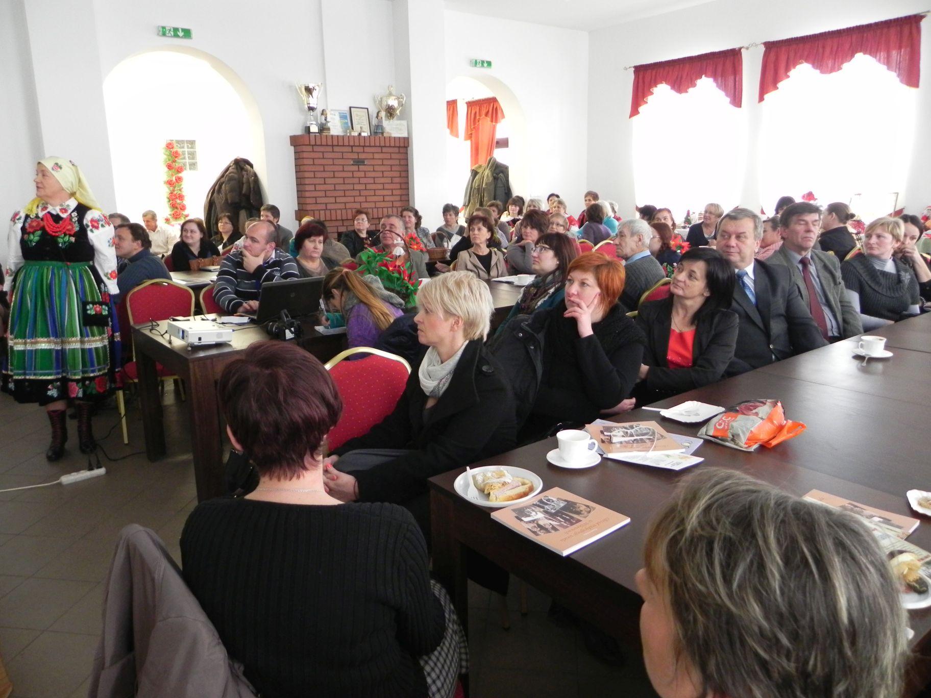 2012-12-14 Wilkowice - Konferencja Wioski tematyczne (107)