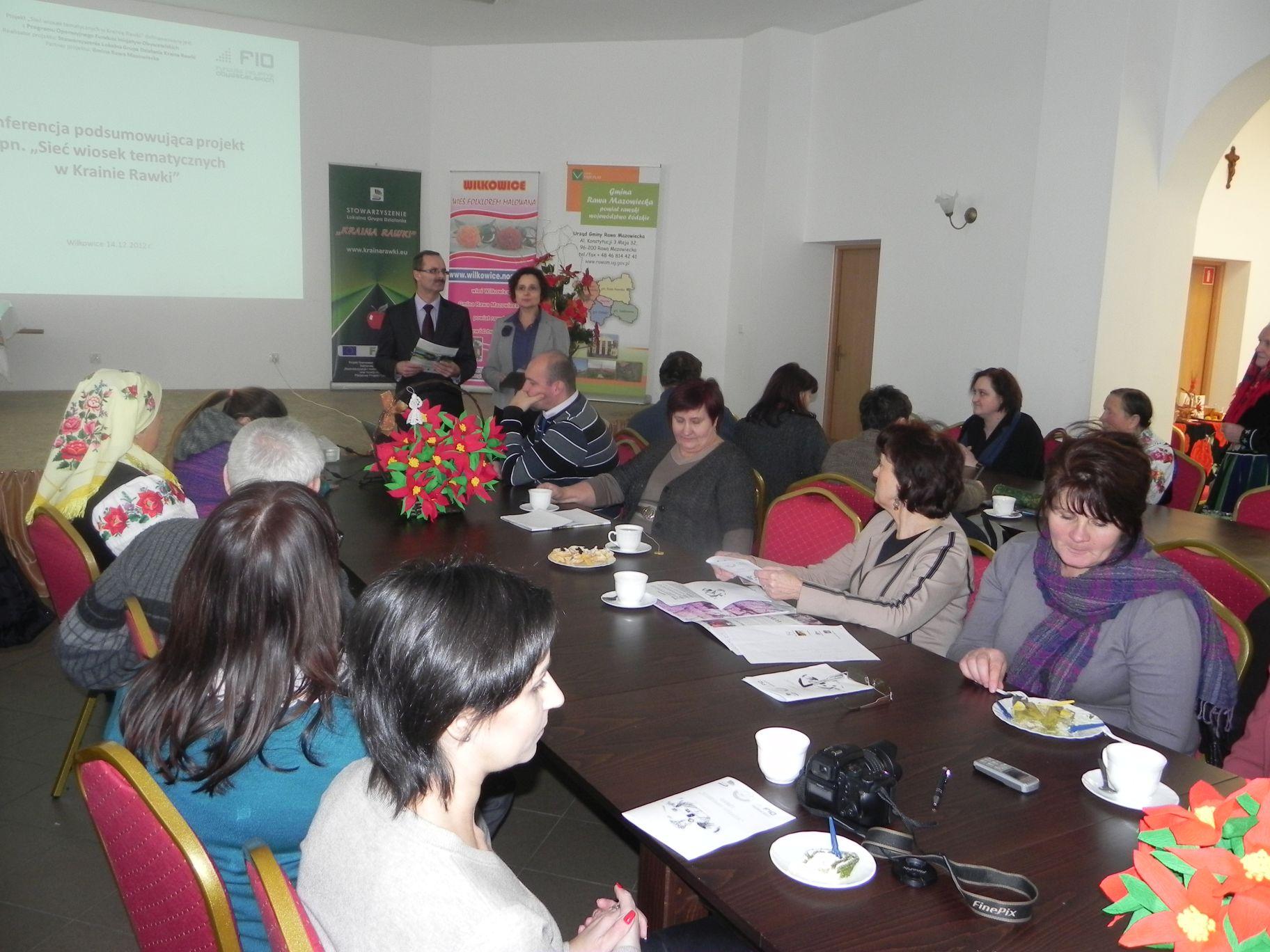 2012-12-14 Wilkowice - Konferencja Wioski tematyczne (80)