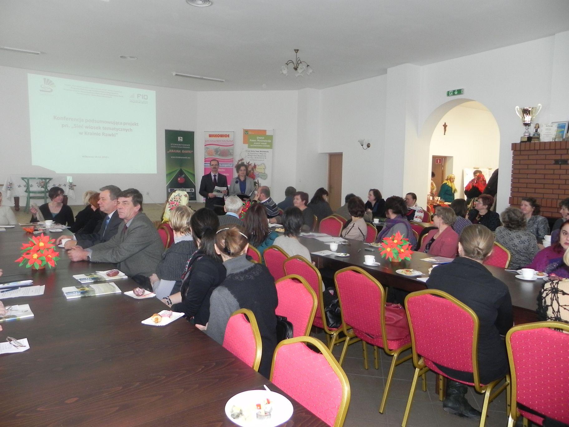 2012-12-14 Wilkowice - Konferencja Wioski tematyczne (84)