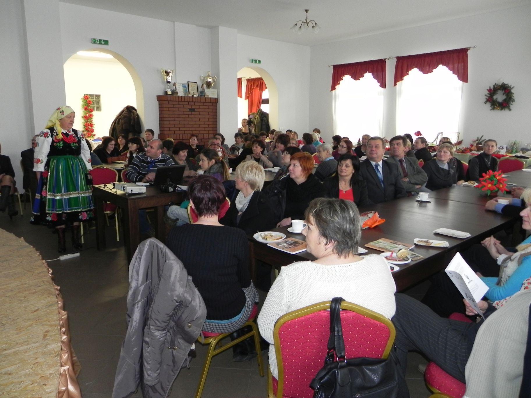 2012-12-14 Wilkowice - Konferencja Wioski tematyczne (92)