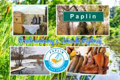 Widokówka Wioski Rybnej z Paplina