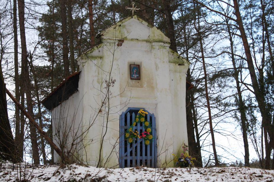 2019-01-15 Glina kapliczka nr1 (4)