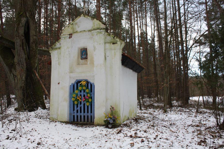 2019-01-15 Glina kapliczka nr1 (6)