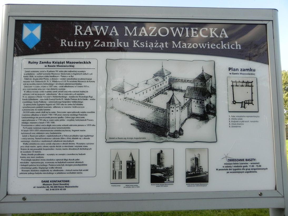2011-09-13 Rawa Maz. - ruiny zamku (3)