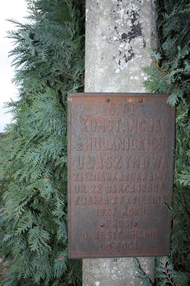 2018-12-31 Rzeczyca - cmentarz parafialny (108)