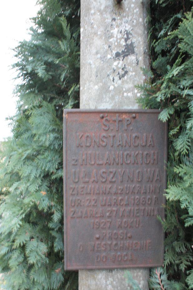 2018-12-31 Rzeczyca - cmentarz parafialny (109)