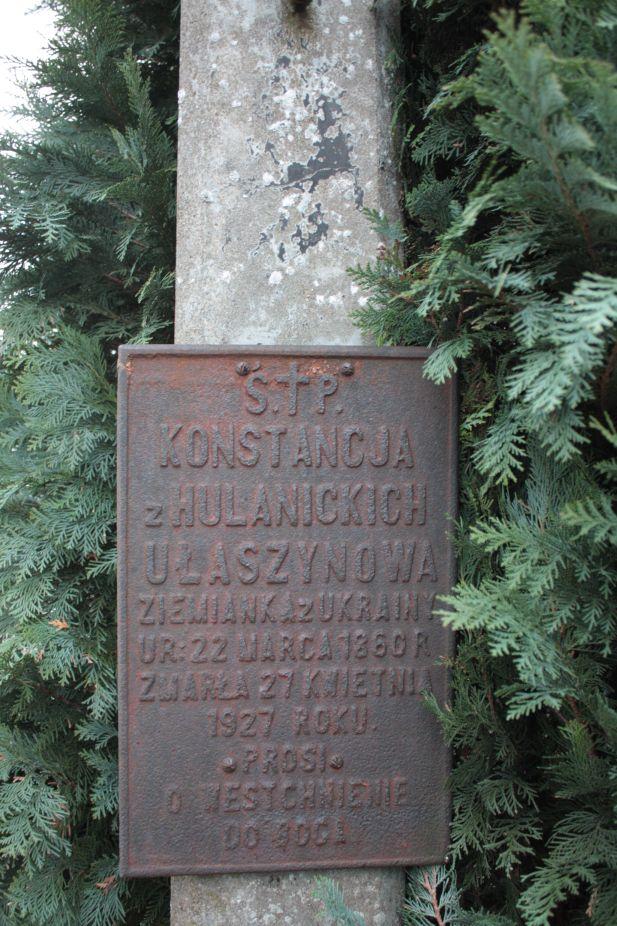 2018-12-31 Rzeczyca - cmentarz parafialny (110)