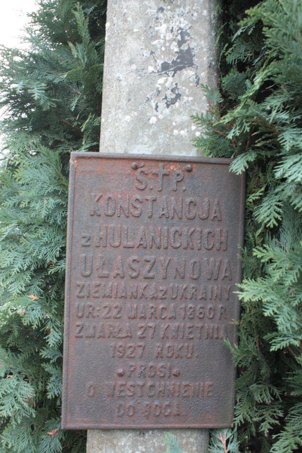 2018-12-31 Rzeczyca - cmentarz parafialny (111)