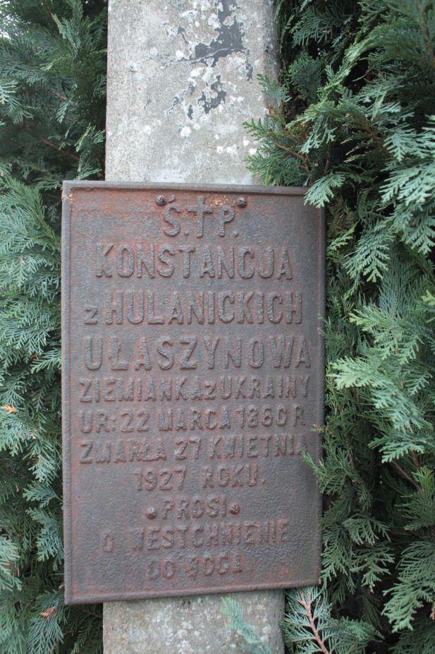 2018-12-31 Rzeczyca - cmentarz parafialny (112)